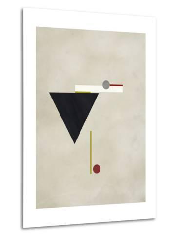 Triangle Love-Kevin Calaguiro-Metal Print