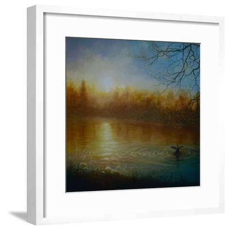 Thames Sunrise, 2004-Lee Campbell-Framed Art Print