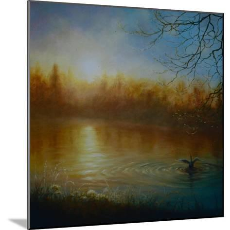 Thames Sunrise, 2004-Lee Campbell-Mounted Giclee Print