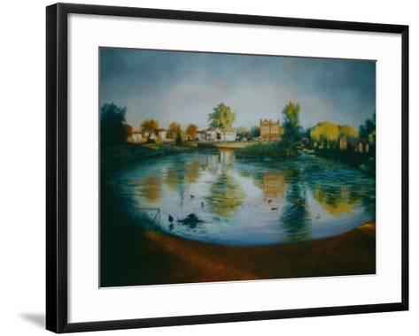 Barnes Pond, 2006-Lee Campbell-Framed Art Print