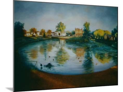 Barnes Pond, 2006-Lee Campbell-Mounted Giclee Print