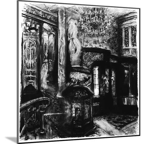 Savoy Shadows, Study for Savoy Interior, 2010-Lee Campbell-Mounted Giclee Print