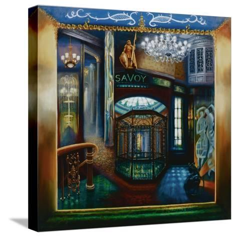 Savoy Hotel, Savoy Interior, Kaspar the Cat, 2010-Lee Campbell-Stretched Canvas Print