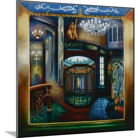Savoy Hotel, Savoy Interior, Kaspar the Cat, 2010-Lee Campbell-Mounted Giclee Print