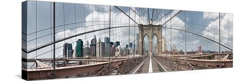 Brooklyn Bridge-Shelley Lake-Stretched Canvas Print