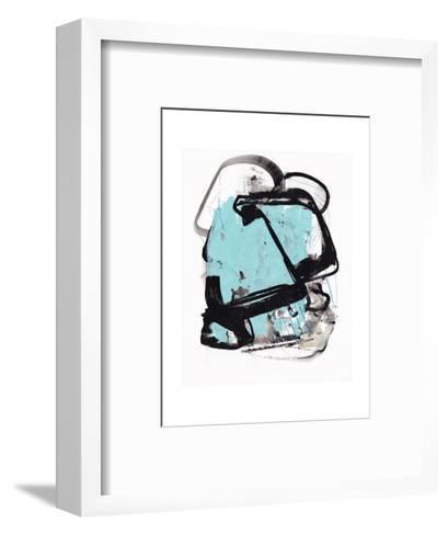 Abstract Painting 140422-2-Jaime Derringer-Framed Art Print