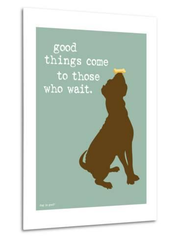 Good Things-Dog is Good-Metal Print