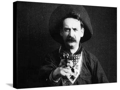 Great Train Robbery, 1903--Stretched Canvas Print