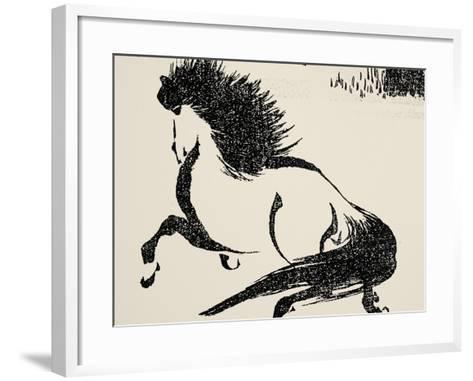 Horse, C1814-Katsushika Hokusai-Framed Art Print