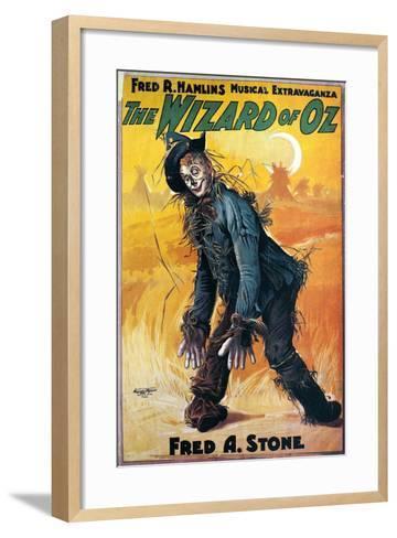 Wizard of Oz, 1903--Framed Art Print