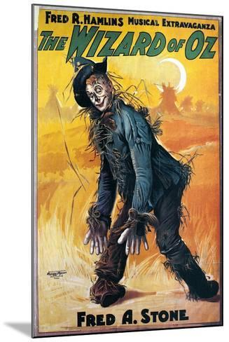 Wizard of Oz, 1903--Mounted Giclee Print