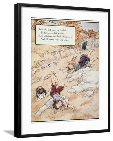 Jack and Jill-Frederick Richardson-Framed Art Print
