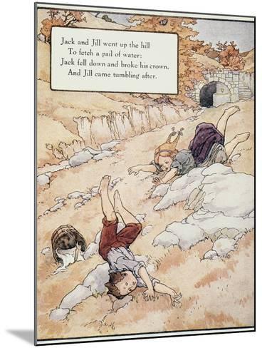 Jack and Jill-Frederick Richardson-Mounted Giclee Print