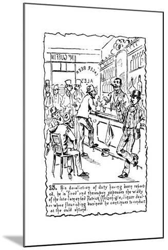 Immigrants: Irish, C1885--Mounted Giclee Print