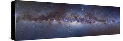 Panorama View of the Center of the Milky Way--Stretched Canvas Print