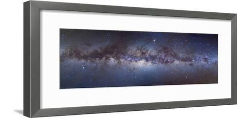Panorama View of the Center of the Milky Way--Framed Art Print