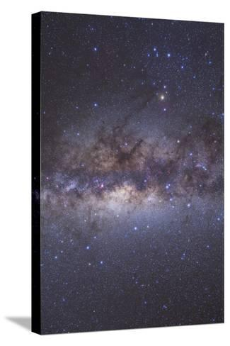 The Center of the Milky Way Through Sagittarius and Scorpius--Stretched Canvas Print