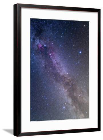 Summer Triangle Area of the Northern Summer Milky Way--Framed Art Print