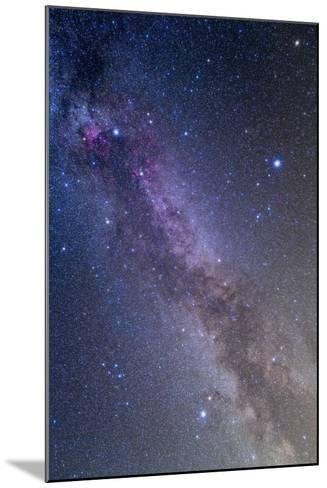 Summer Triangle Area of the Northern Summer Milky Way--Mounted Photographic Print