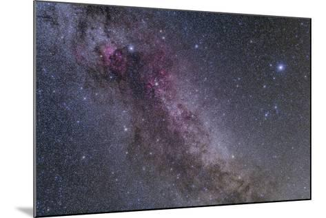 Constellations Cygnus and Lyra with Nearby Deep Sky Objects--Mounted Photographic Print