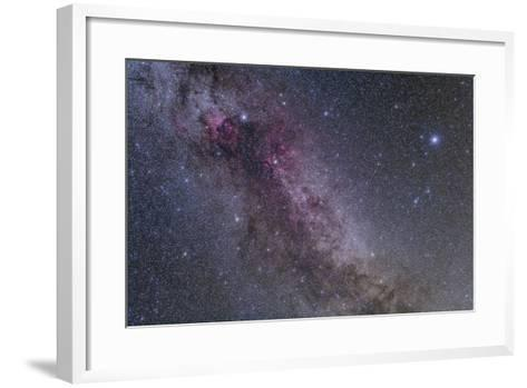 Constellations Cygnus and Lyra with Nearby Deep Sky Objects--Framed Art Print