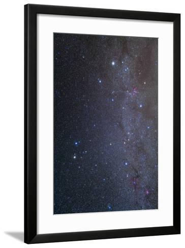 The Constellations of Gemini and Auriga--Framed Art Print