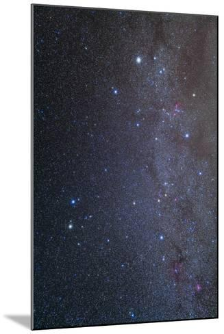 The Constellations of Gemini and Auriga--Mounted Photographic Print