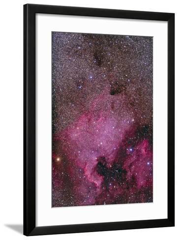 Ngc 7000 and the Pelican Nebula--Framed Art Print
