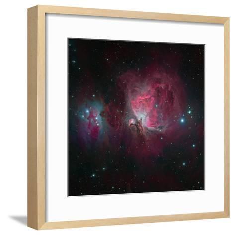 Messier 42, the Orion Nebula--Framed Art Print