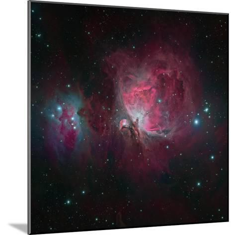 Messier 42, the Orion Nebula--Mounted Photographic Print