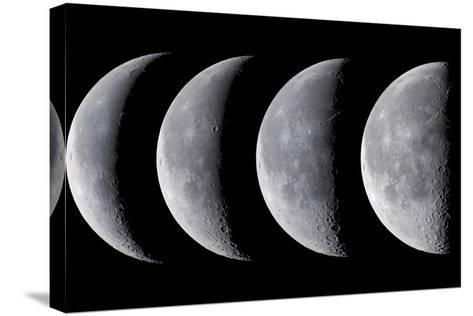 Waning Moon Series--Stretched Canvas Print
