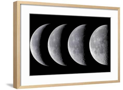 Waning Moon Series--Framed Art Print
