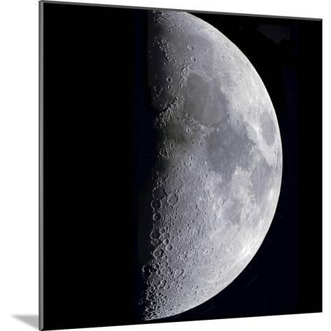 Quarter Moon--Mounted Photographic Print