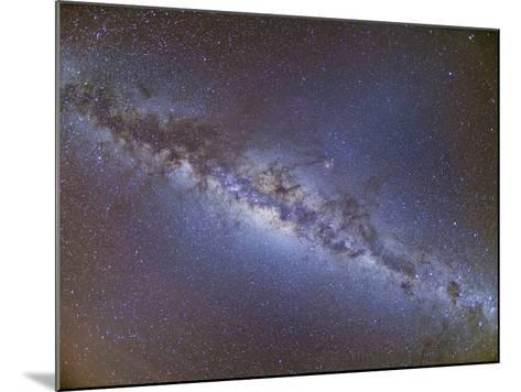 Full Frame View of the Milky Way from Horizon to Horizon--Mounted Photographic Print