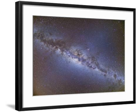 Full Frame View of the Milky Way from Horizon to Horizon--Framed Art Print