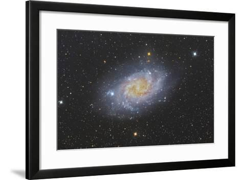 The Triangulum Galaxy, also known as Messier 33--Framed Art Print