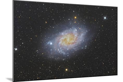 The Triangulum Galaxy, also known as Messier 33--Mounted Photographic Print