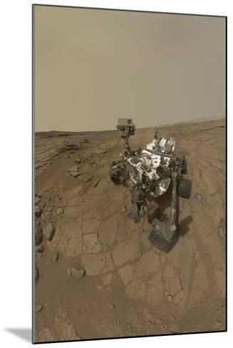 Self-Portrait of Curiosity Rover on the Surface of Mars--Mounted Photographic Print