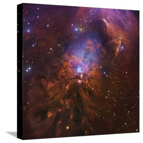 Ngc 1999, Bright Reflection Nebula in Orion--Stretched Canvas Print