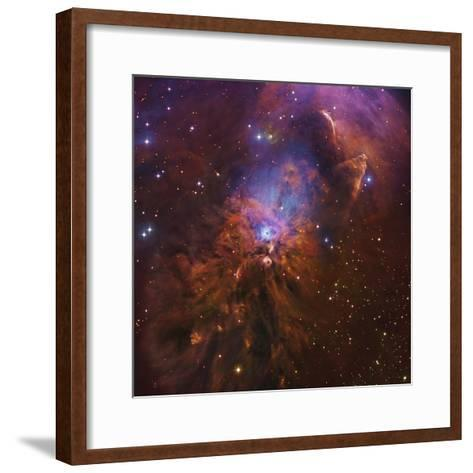 Ngc 1999, Bright Reflection Nebula in Orion--Framed Art Print