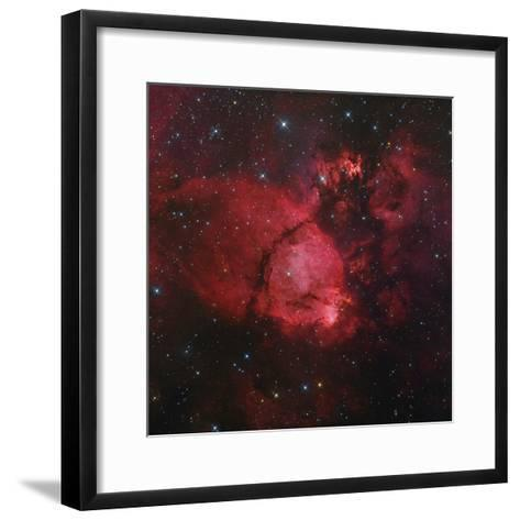 Ngc 896 in the Heart Nebula in Cassiopeia--Framed Art Print