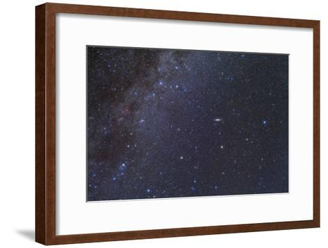 Cassiopeia, Perseus and Andromeda Area of the Northern Autumn Sky--Framed Art Print