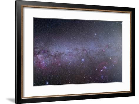 Mosaic of the Southern Milky Way from Orion to Vela--Framed Art Print