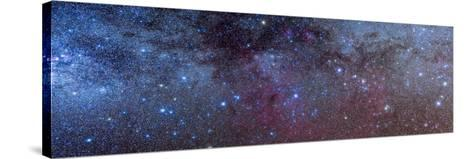 The Constellations of Puppis and Vela in the Southern Milky Way--Stretched Canvas Print