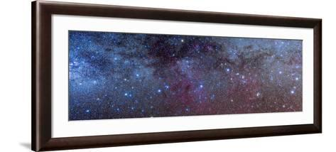 The Constellations of Puppis and Vela in the Southern Milky Way--Framed Art Print