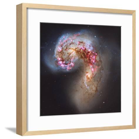 The Antennae Galaxies--Framed Art Print