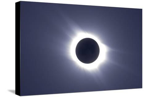 Total Solar Eclipse--Stretched Canvas Print