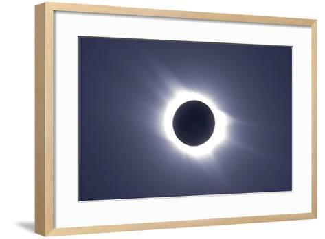 Total Solar Eclipse--Framed Art Print