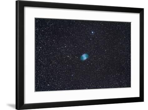 The Dumbbell Nebula, a Planetary Nebula in the Constellation Vulpecula--Framed Art Print