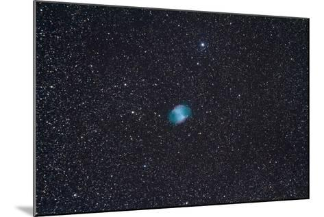 The Dumbbell Nebula, a Planetary Nebula in the Constellation Vulpecula--Mounted Photographic Print